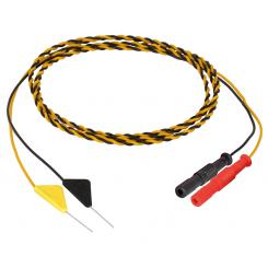 Tri Needle Electrodes YE/BK, 15x1000mm